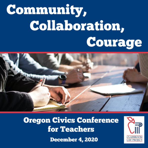 Oregon Civics Conference, December 4, 2020