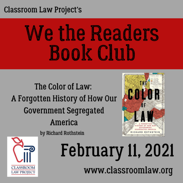We the Readers Book Club February 11