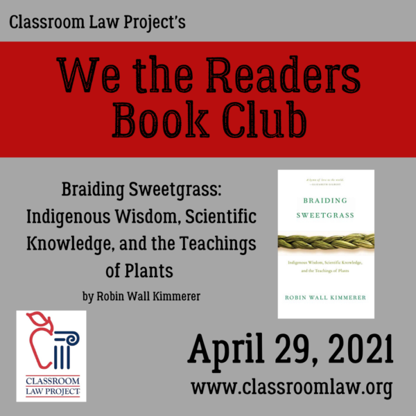 We the Readers Book Club April 29 2021