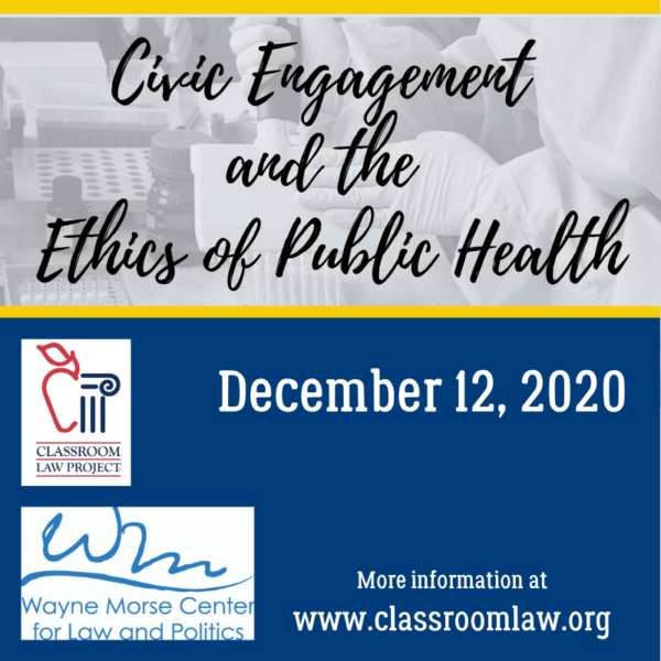 Civic Engagement and the ethics of public health