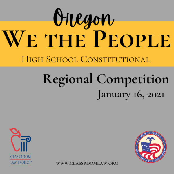 Register for We the People!