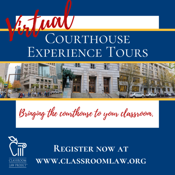 Virtual Courthouse Experience Tours now available.