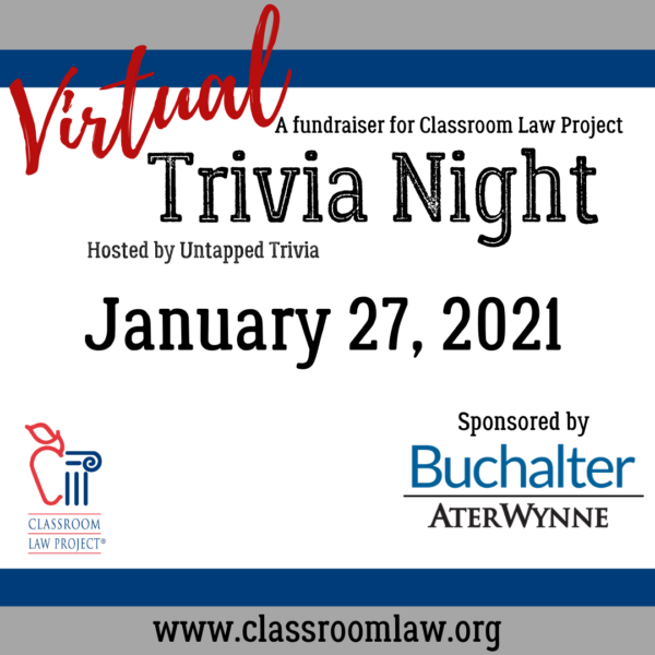Virtual Trivia Night January 27, 2021
