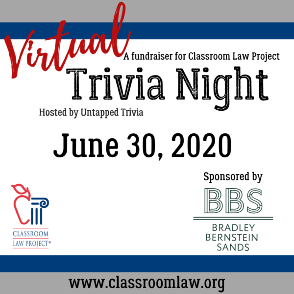 Virtual Trivia Night June 30, 2021
